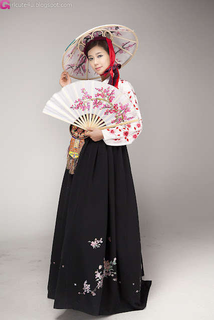 4 Kim Ha Yul - Elegant Hanbok-very cute asian girl-girlcute4u.blogspot.com