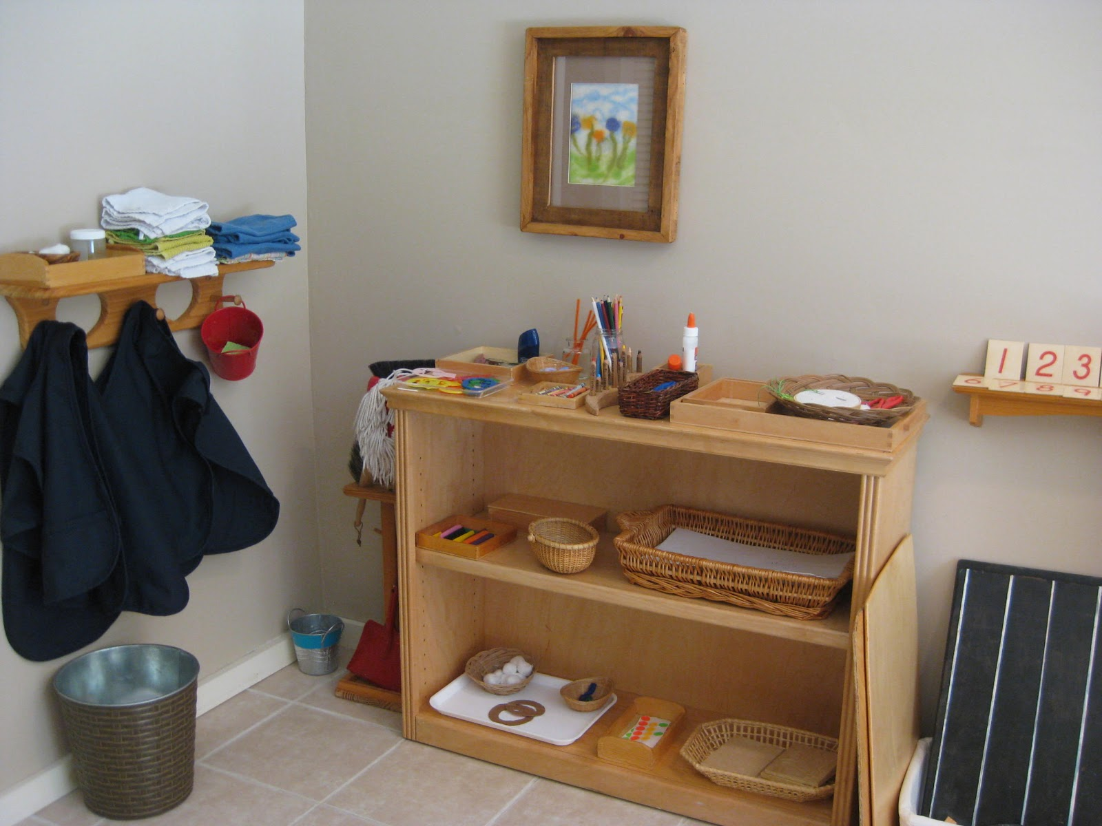 The wonder years an in home childcare room for Daycare kitchen ideas