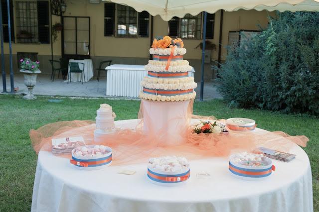 matrimonio con lo sponsor chiara e maurizio candy buffet