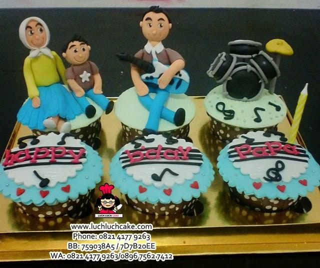 Cupcake Tema Musik Daerah Surabaya - Sidoarjo