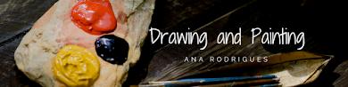 O nosso espaço de desenho e pintura