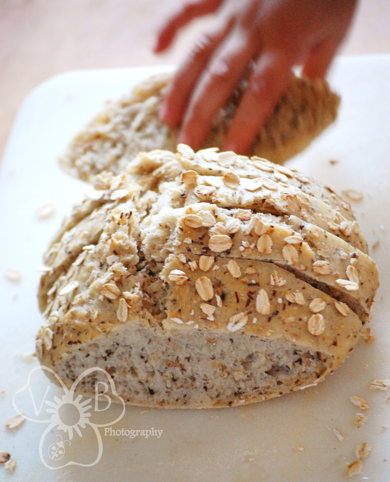 Violet's Buds: Artisan Free-Form No-Knead Bread