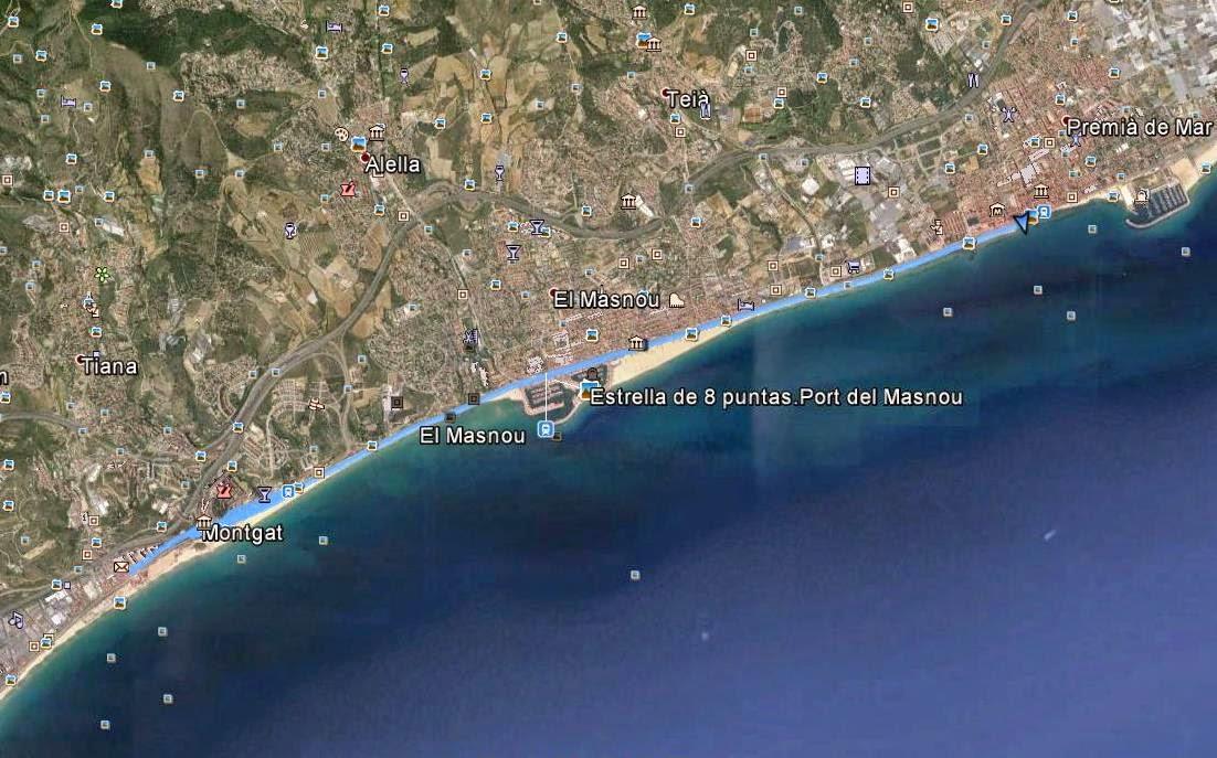 Recorregut: Montgat-Turó de Montgat-Premià de Mar