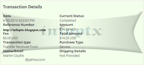 1ºpago de coin generation $14.33 Cg-1p
