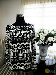 Segmen Menang Blouse Tribal!