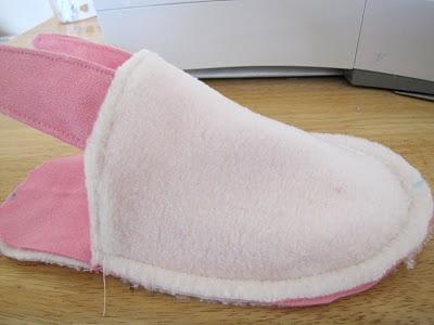 Como hacer pantuflas con diseño