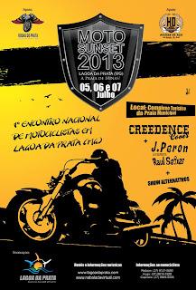 Moto Sunset - Primeiro Encontro Nacional de Motociclistas de Lagoa da Prata