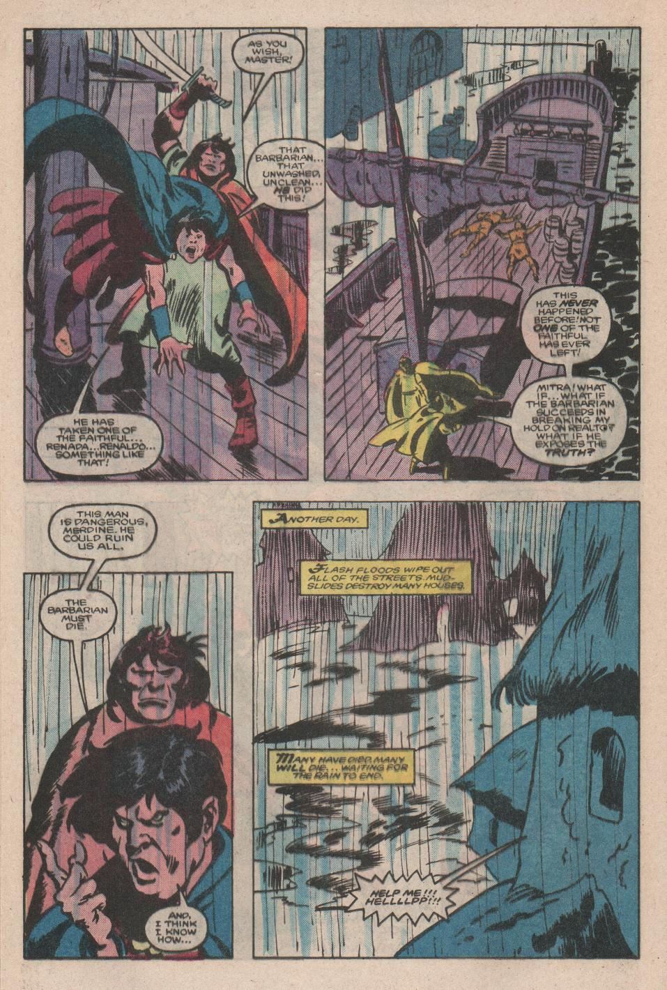 Conan the Barbarian (1970) Issue #176 #188 - English 15