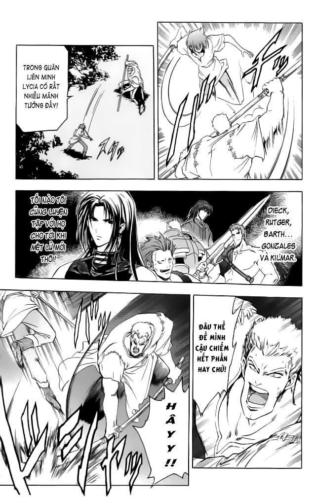 Fire Emblem-Hasha no Tsurugi chap 28 - Trang 33