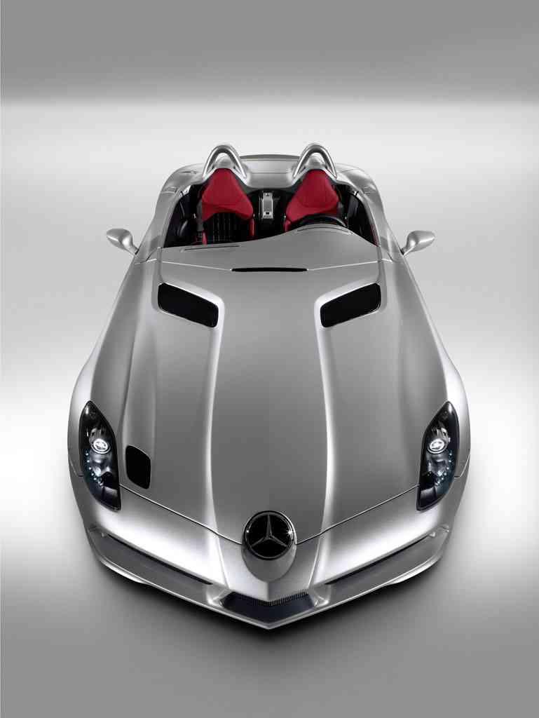 Sports cars mercedes benz mclaren slr stirling moss roadster for Mercedes benz stirling moss