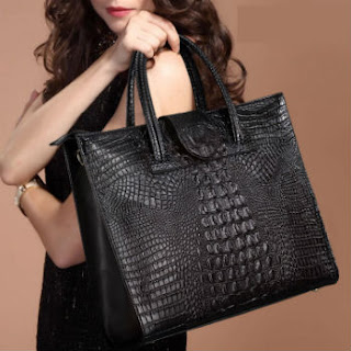 Real genuine crocodile handbags