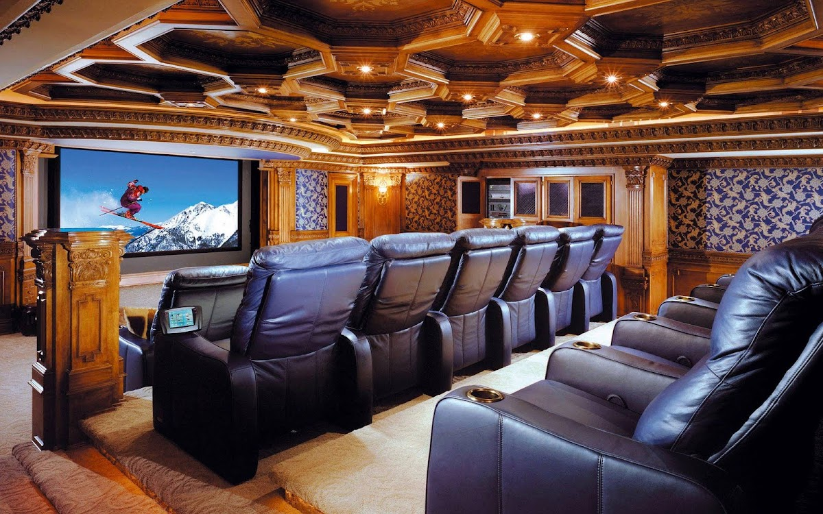 Amazing Living Room Widescreen Wallpaper 7