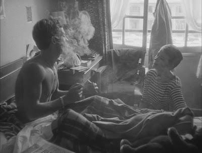 Breathless 03 - Jean-Paul Belmondo Jean Seberg