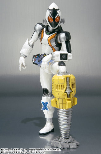 Kamen Rider Fourze Stand and Effect Set
