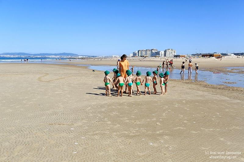 Португальские дети