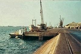 PORTO DE LUANDA - ANO 1968.