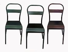 NEW Atelier 'Bistro' steel chair