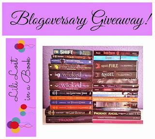 Blogoversary Giveaway!