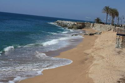 Les Escaletes Beach in Sant Pol de Mar