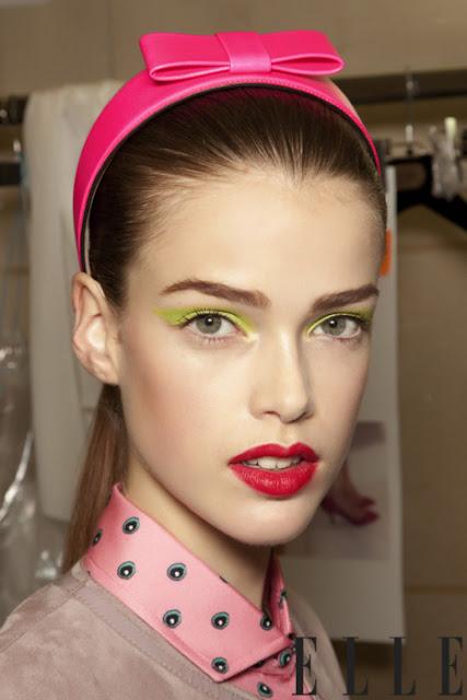 neon makeup trend