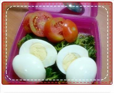 Bekal makan siang Diet Mayo