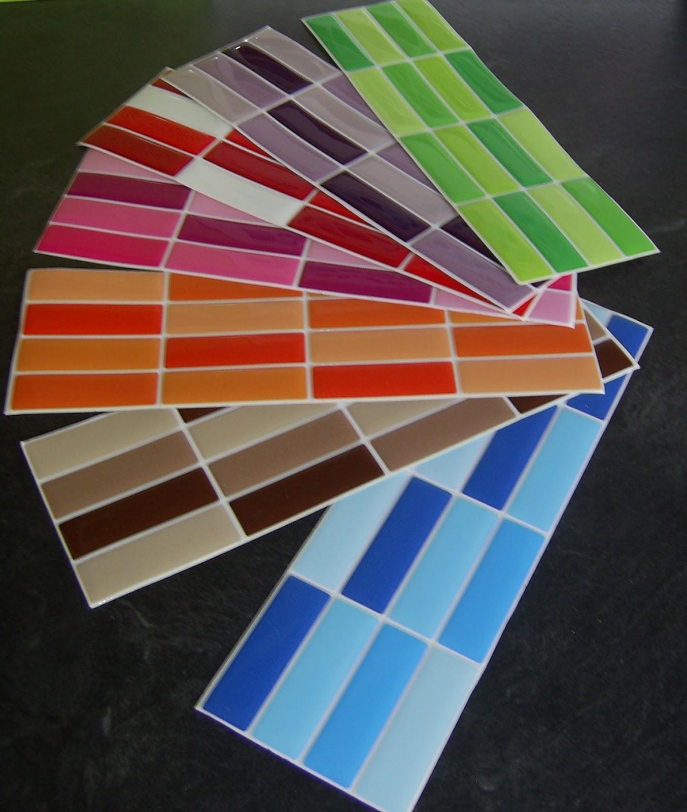Azulejos para ba o juvenil - Cenefas autoadhesivas cocina ...