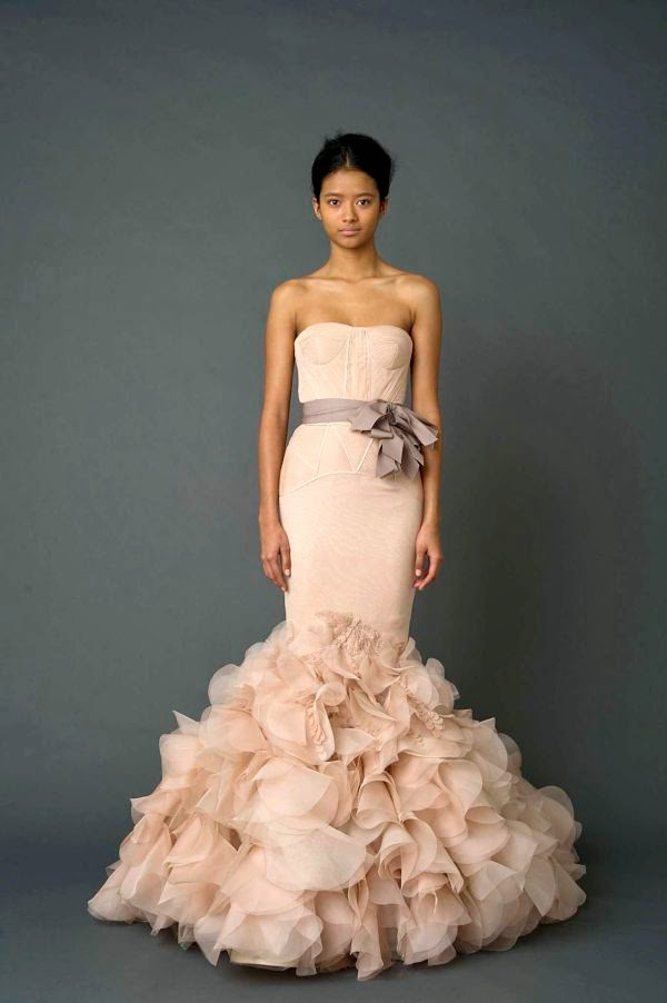 iCafe Woman Moderne: Chic Weddings 2014: Non-White Wedding Gowns ...
