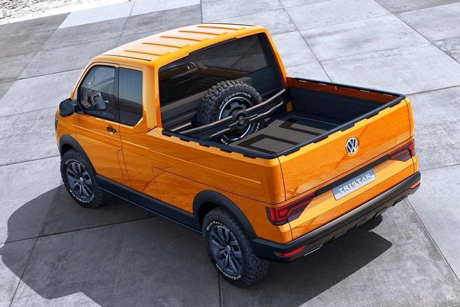 Volkswagen Tristar Concept (2014) Rear Side