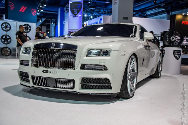 Rolls-Royce Wraith Mansonry SEMA