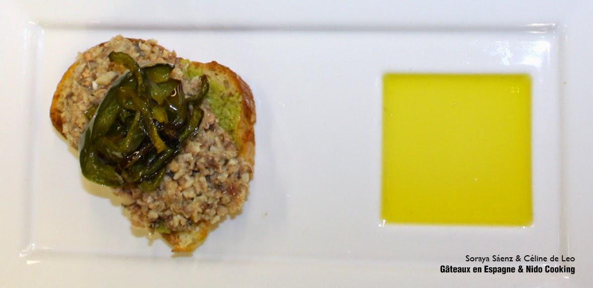 recette tapenade verte poivrons sardine