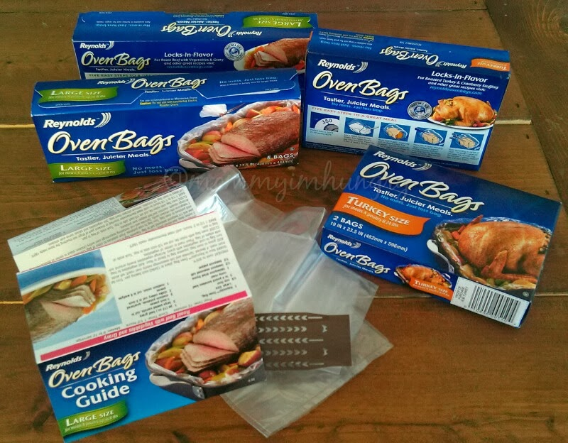 Holiday Cooking Tips From Reynolds Oven Bags Bakeware Review Stuffed Turkey T Roulade