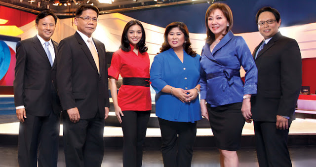 GMA News and Public Affairs | GMA News formerly RBS News Department GMA Radio Television News and GMA Rainbow Satellite News