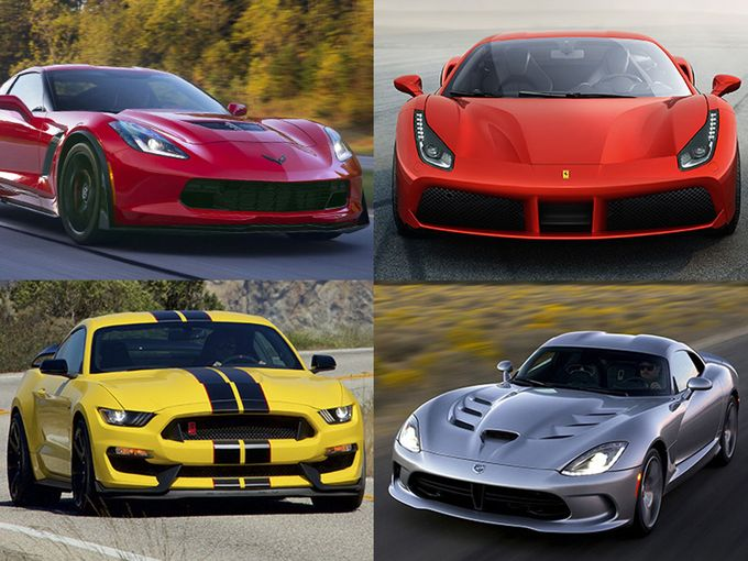 Auto Bailout Update Detroit Sports Cars Smoke The Competition - American sports cars 2016