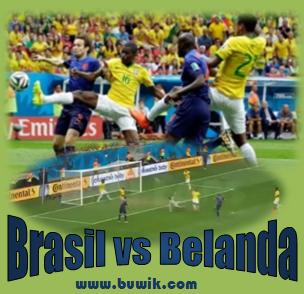 Belanda mengalahkan brasil dengan skor 3-0