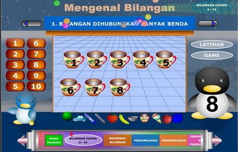Pembelajaran Matematika Online Untuk Kelas 2 SD dengan Games Interaktif