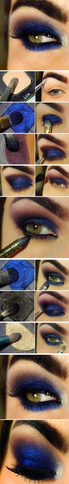 Eye Make Up Tutorial #1.