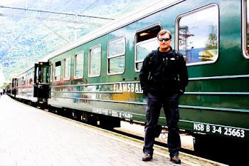 Tren Flamsbana, en Myrdal