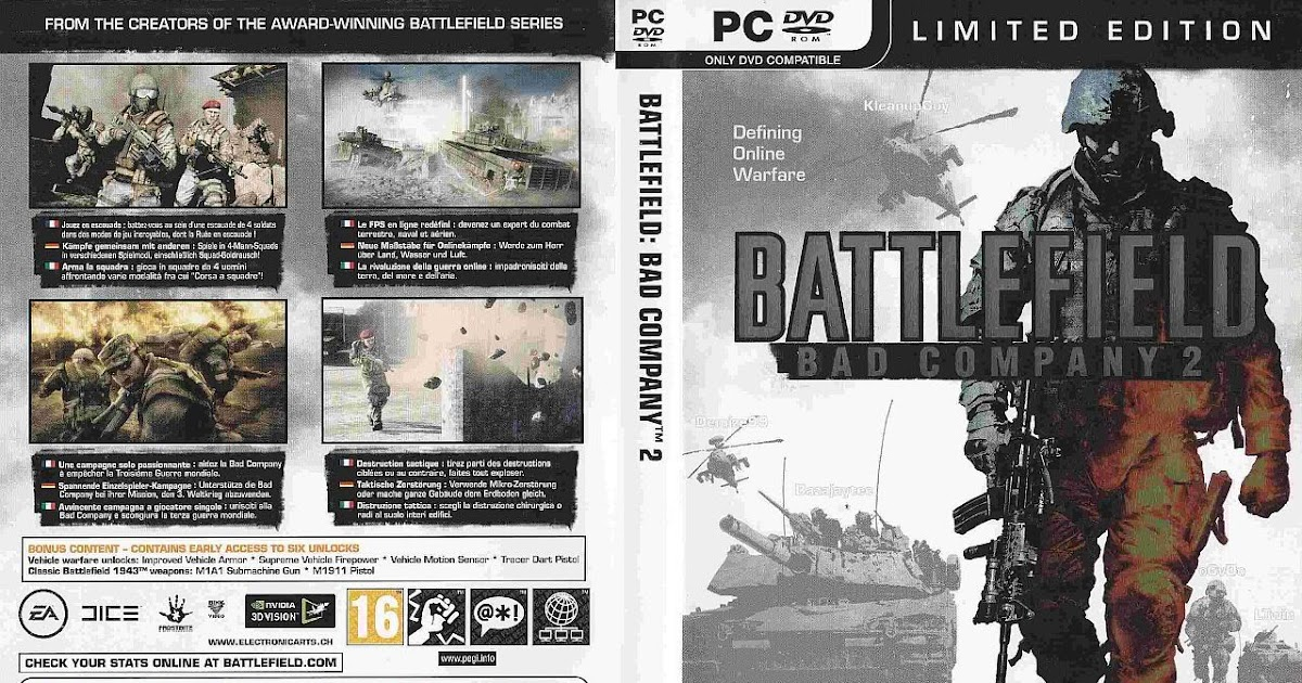 Battlefield Bad Company 2 Pc Game Patch - zipsrewards