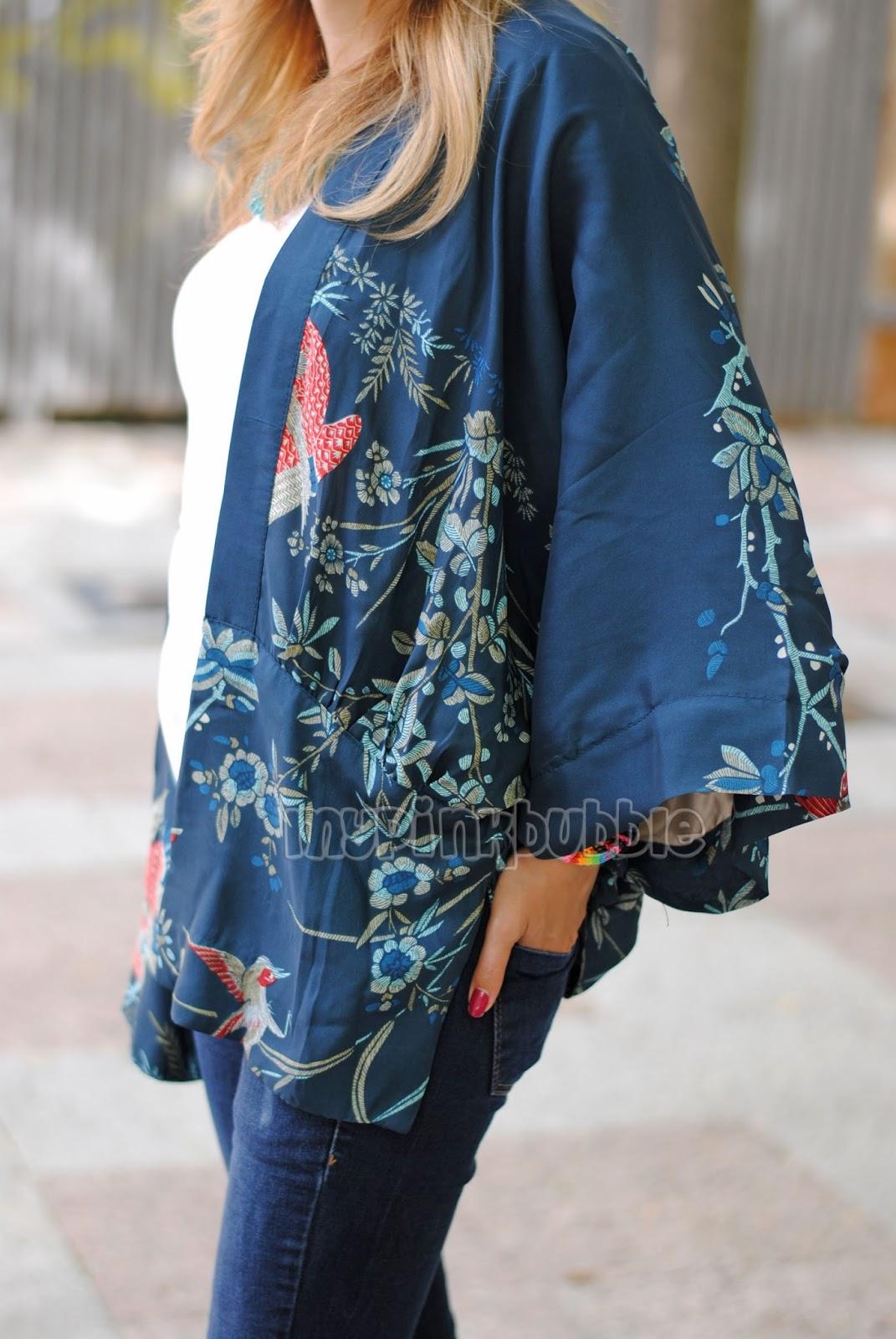Outfit kimono detalle