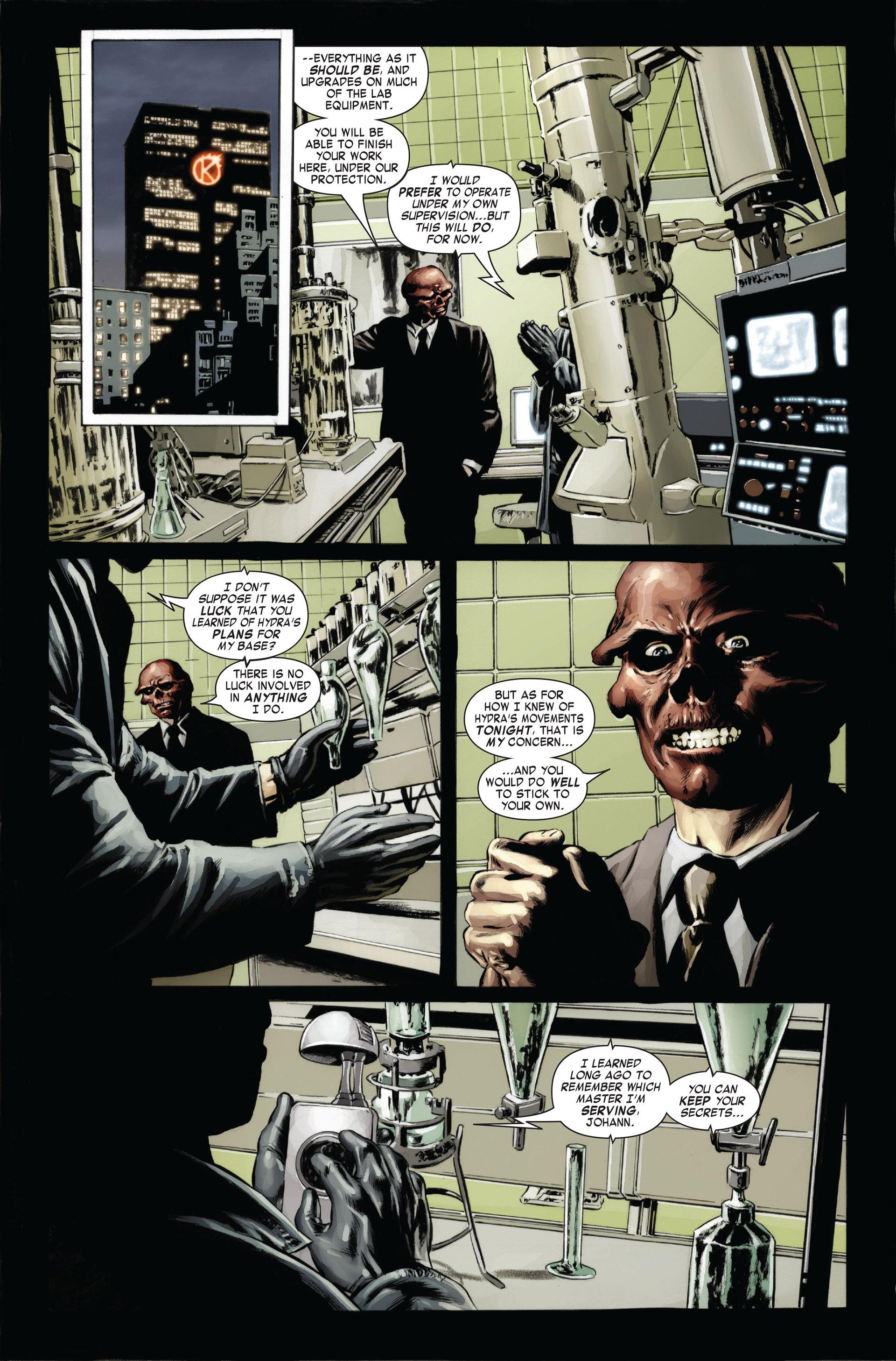 Captain America (2005) Issue #24 #24 - English 22