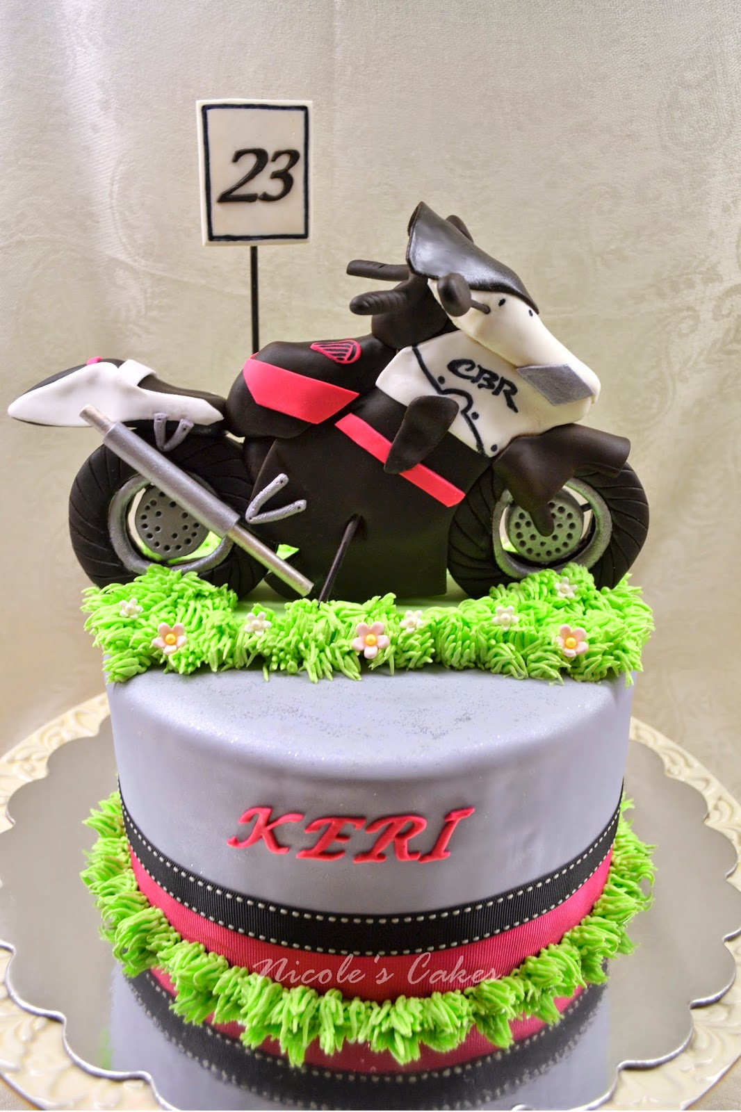 Confections Cakes Amp Creations Cool Motorbike Cake
