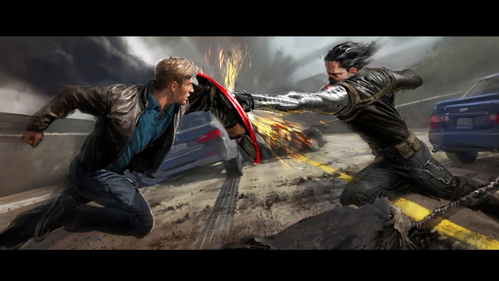 Captain America Movie 2014