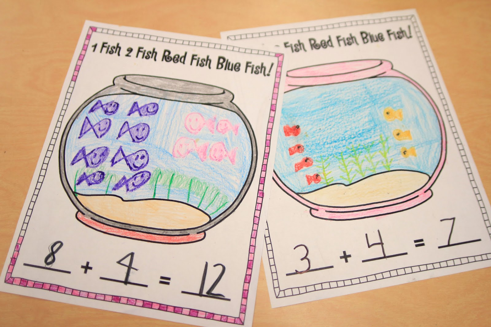 math worksheet : mrs ricca s kindergarten fun with addition! freebies : Make Your Own Addition Worksheets