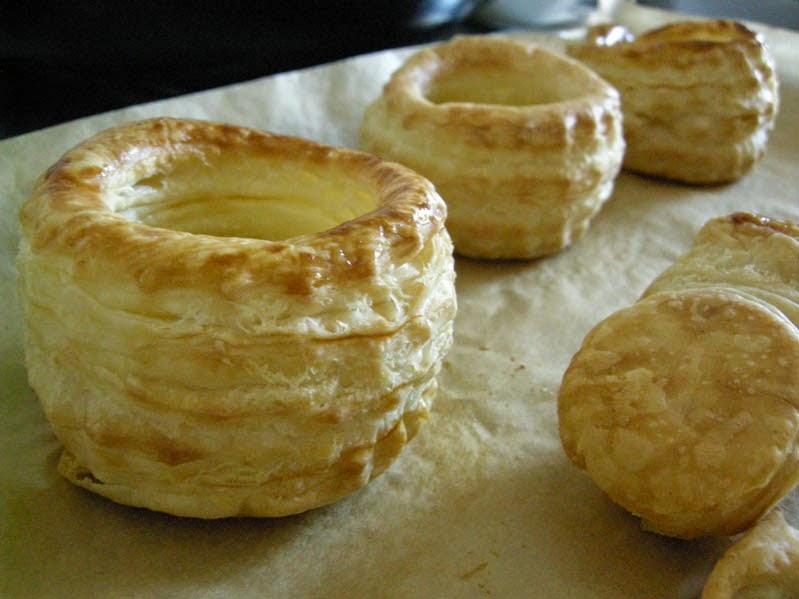 Pastetchen, frisch aus dem Ofen