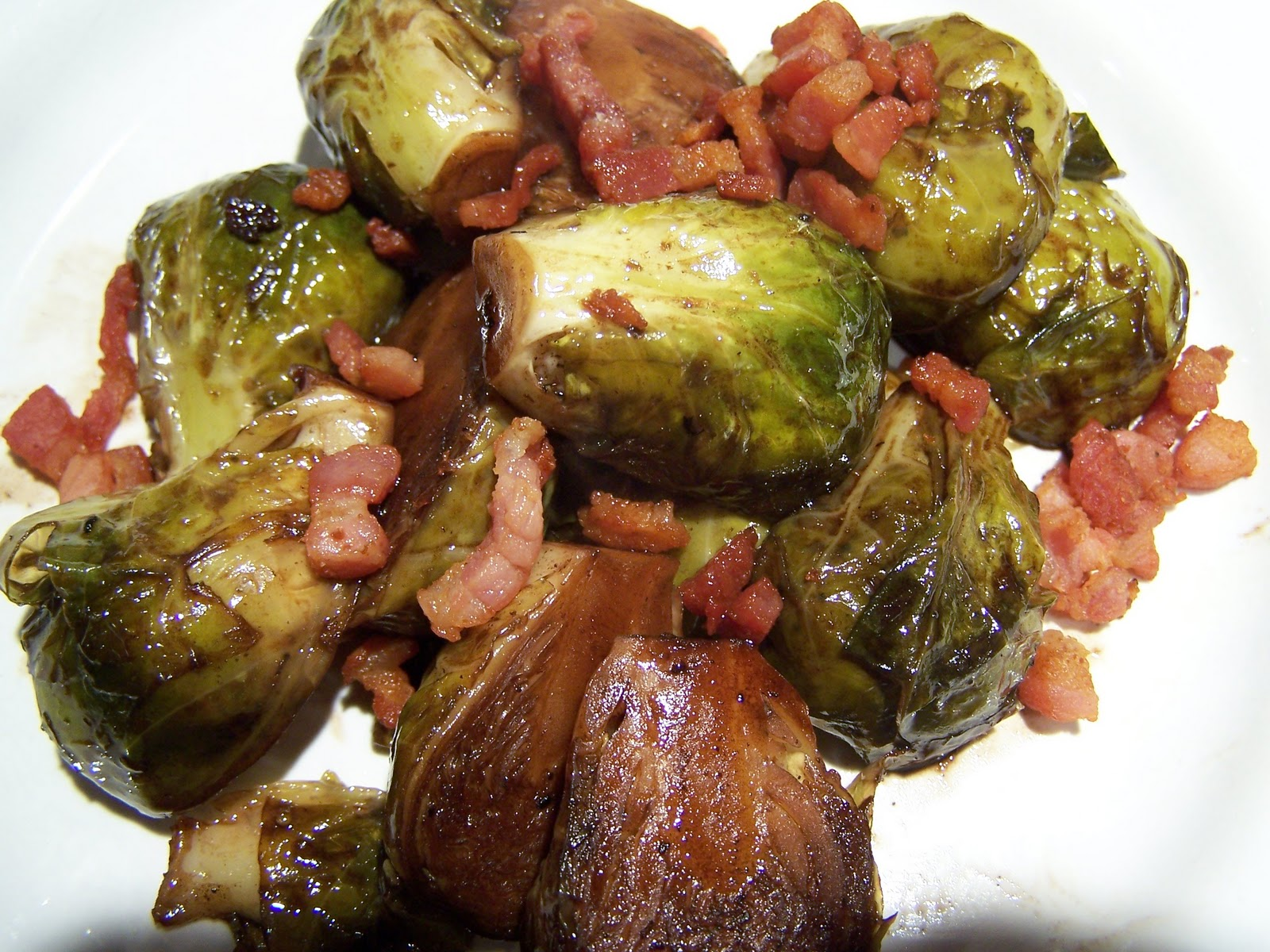 Go Ahead... Take A Bite!: Brussels Sprouts With Fig ...