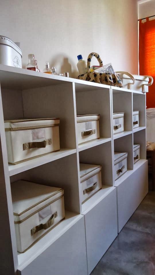Mueble de guardado melamina blanca muebles en melamina for Muebles en melamina