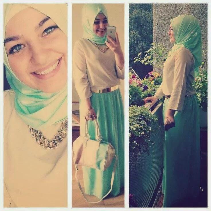 robe-verte-hijab