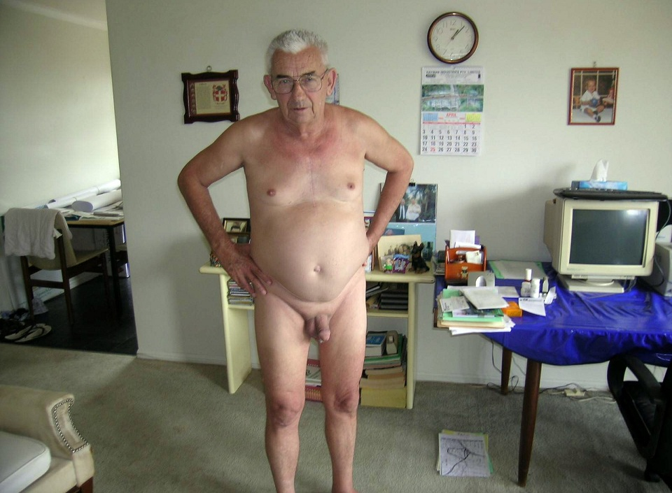 Mature grandad granpa t bag