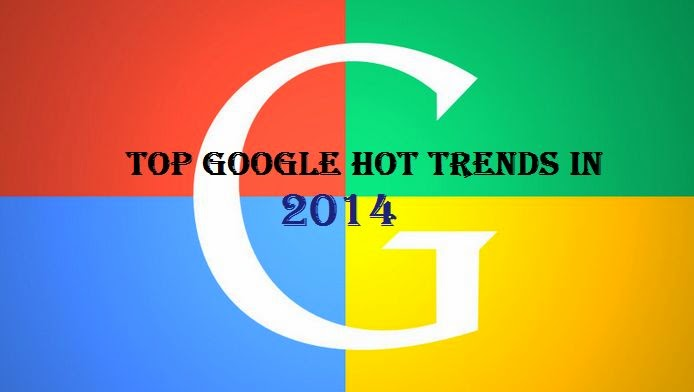 Top Google Hot Trends Search In 2014