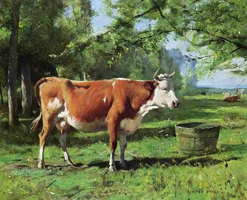 Vachement belles julien dupr - Cuadros de vacas ...